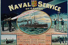 The RCN's first recruiting poster.