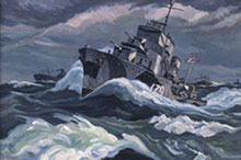 Rowley Murphy, Convoy in Rough Weather.