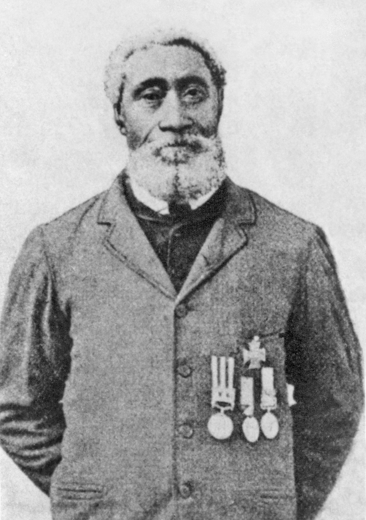Petty Officer (PO) William Hall VC