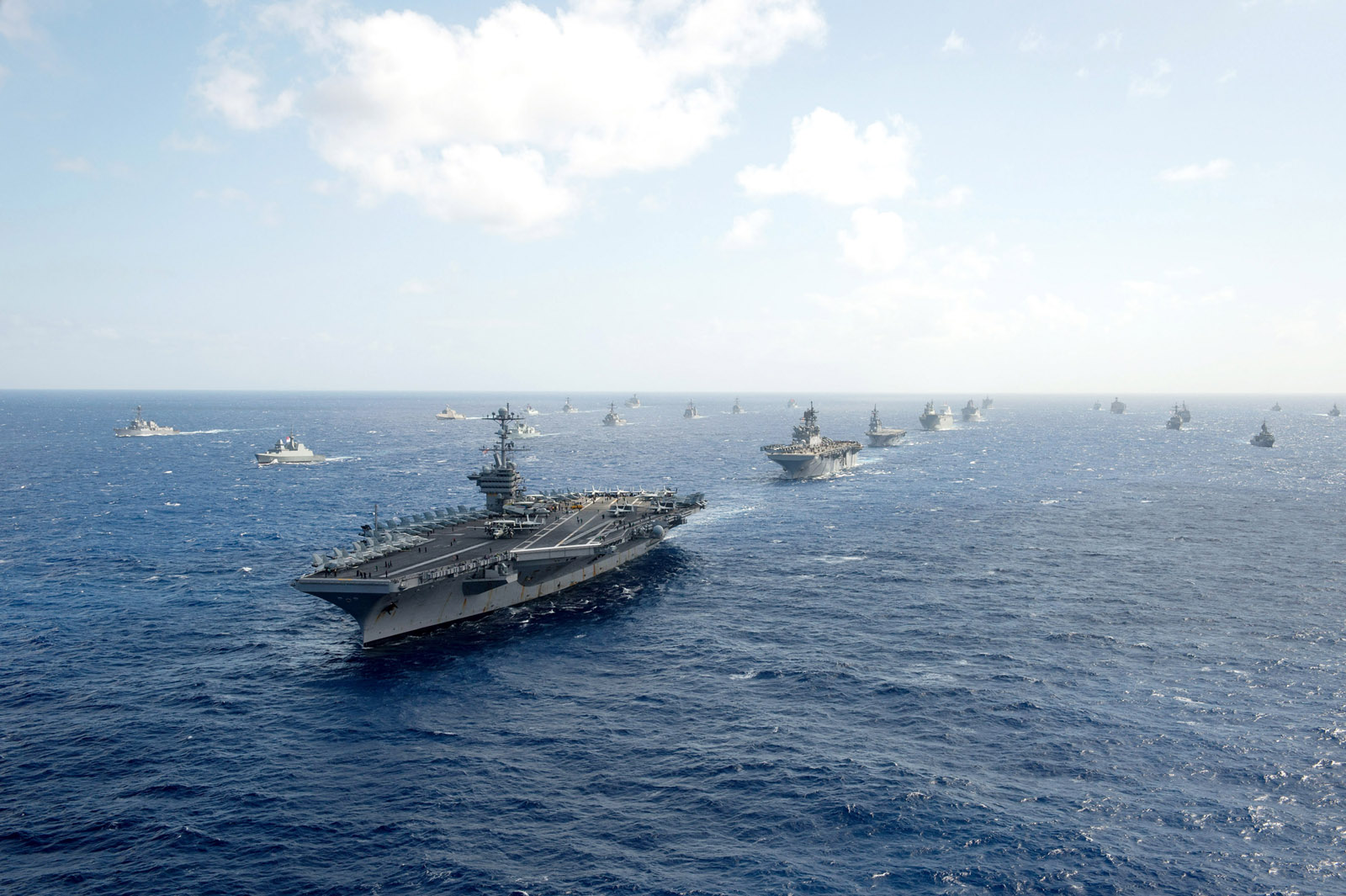 Ships from RIMPAC 2016