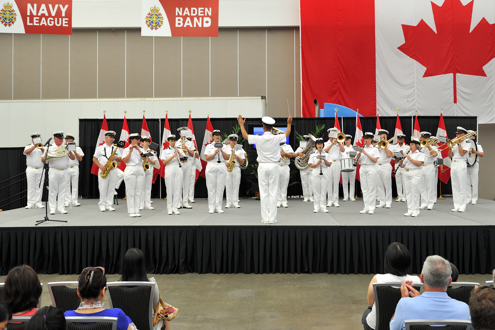 The Naden Band will be part of Canada 150 celebrations at Canada Place in Vancouver on July 1.