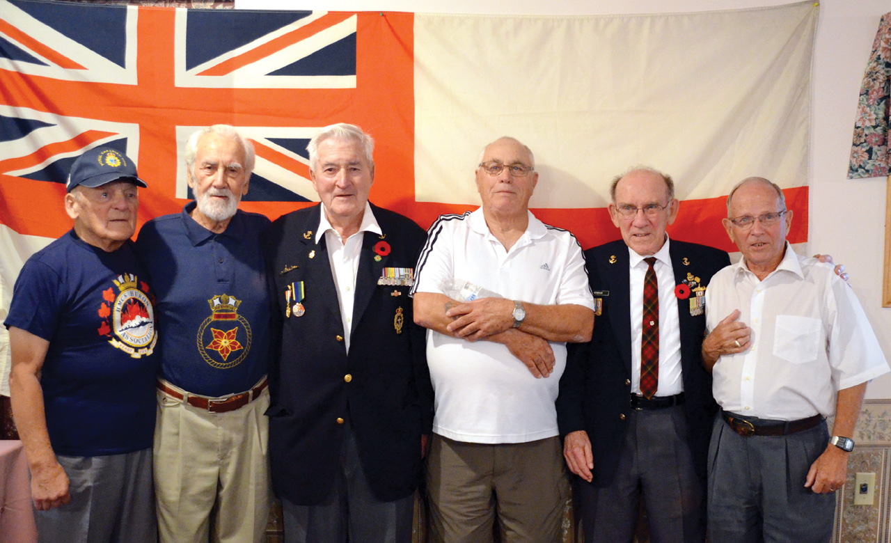 George Guertin, Dave Parent, Glen Wilberforce, Ed Grundwell, Dan Kendrick and Gord Edwards