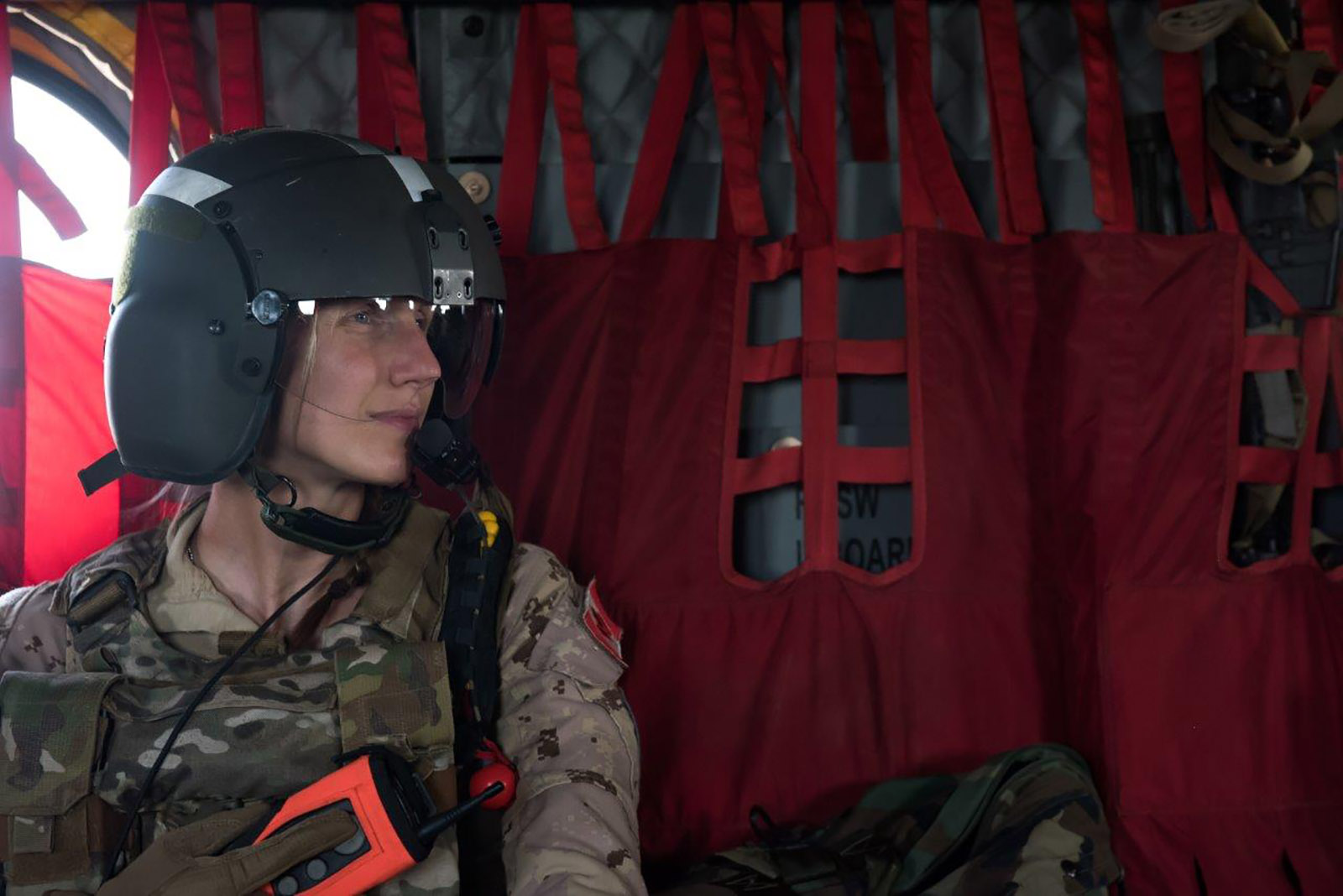 Task Force Mali conducted Forward Aeromedical Training in the vicinity of Gao to keep their skills sharp while deployed on Operation PRESENCE.