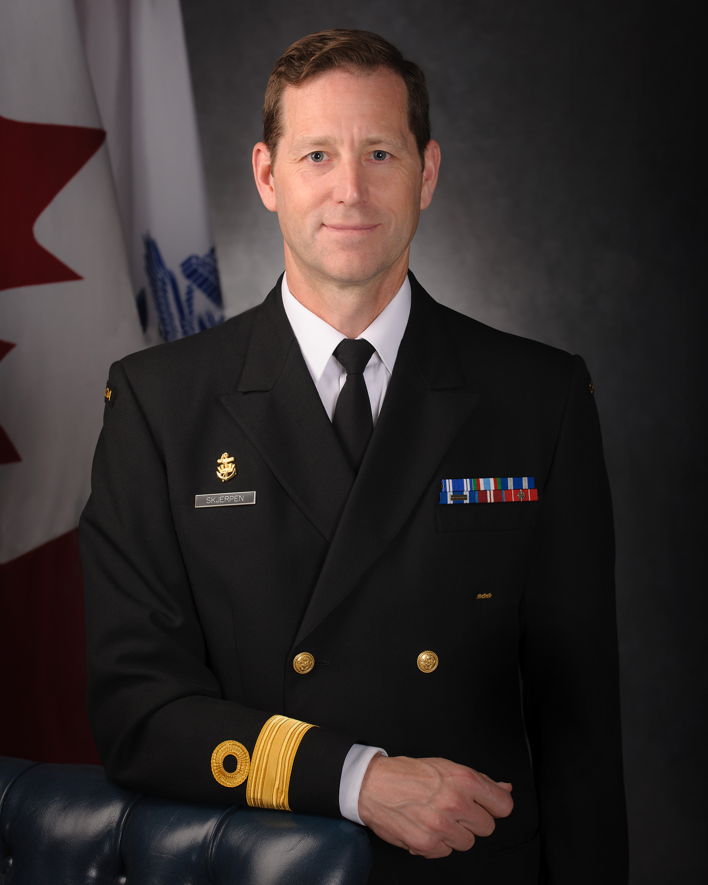 COMMODORE C.T. SKJERPEN, MSM, CD