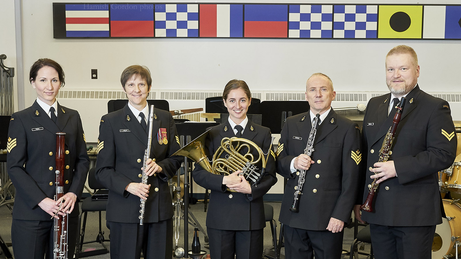 Slide - The Stadacona Band's Woodwind Quintet